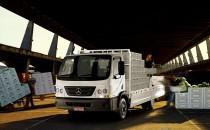 O Mercedinho, Accelo 815, é um dos destaques da Mercedes-Benz na Feira do Caminhoneiro de Itabaiana
