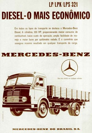 LP321 O LP 321 da Mercedes Benz
