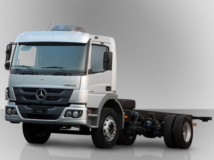 modelos atego com novo sistema de suspensão blog do caminhão