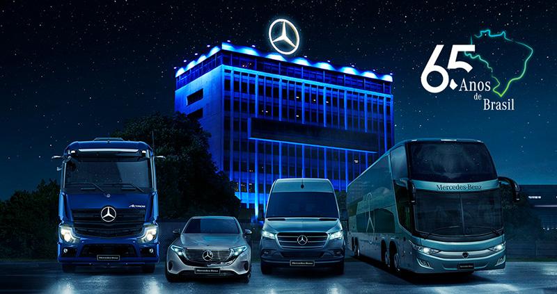 65 anos Mercedes-Benz Brasil